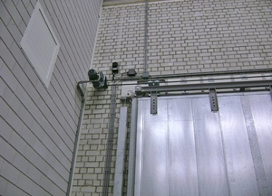 Automating Sliding Fire Doors in Hazardous Areas
