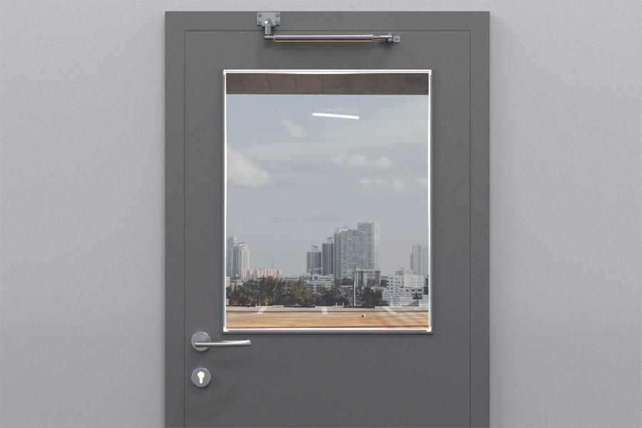 Dörrbroms som räddar dörren